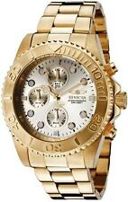 Invicta Round Watches with Chronograph