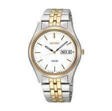 Quarz - (solarbetriebene) Armbanduhren mit Uhrengehäuse Größe 36-39,5mm