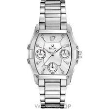 Tonneau Armbanduhren aus Edelstahl mit Datumsanzeige für Damen