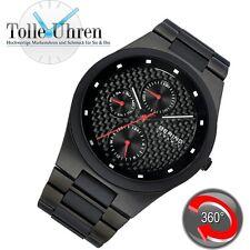 Sportliche Armbanduhren mit Chronograph und mattem Finish