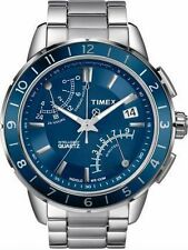 Timex Stainless Steel Case Wristwatches with Chronograph