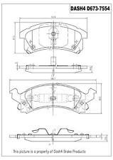 Dash 4 Brake MD673 Front Semi Metallic Brake Pads