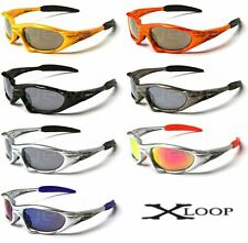 mirrored sport sunglasses  Xloop Sport Mirrored 100% UV400 Sunglasses for Men