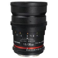 Kameraobjektive für Canon mit manuellem Fokus