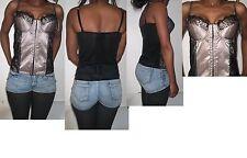 Women's Petite Sleeveless Stretch Strappy, Spaghetti Strap Tops & Shirts