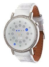 Polierte Armbanduhren aus Edelstahl mit 12-Stunden-Zifferblatt
