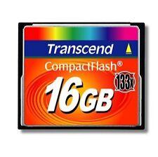Transcend CompactFlash I Camera Memory Cards