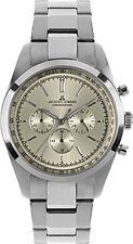 Jacques Lemans Armbanduhren mit Chronograph und 100 m (10 ATM)