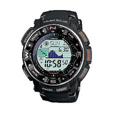 Men's Adult Round Watches Casio Pro Trek