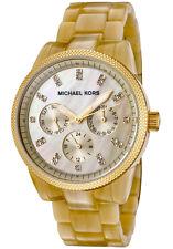 Runde Michael Kors Armbanduhren mit Chronograph