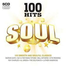 R&B & Soul Box Set 100 Hits Music CDs