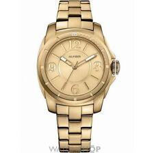 Vergoldete Armbanduhren aus Edelstahl für Erwachsene