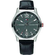 Tommy Hilfiger Armbanduhren aus Edelstahl mit 12-Stunden-Zifferblatt für Herren