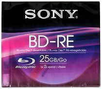 Sony Computer-CD, - DVD- & - Blu-ray 25 GB-Rohlinge