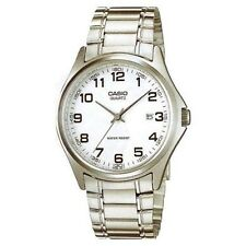 Men's Silver Case Casual Wristwatches with Date Indicator