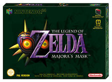 Nintendo 64 The Legend of Zelda: Majora's Mask Video Games