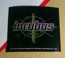 INCUBUS PURPLE GREEN BLACK CASE AMP BOARD ROCK MUSIC STICKER