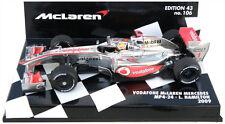 Minichamps McLaren MP4-24 2009 - Lewis Hamilton 1/43 Scale