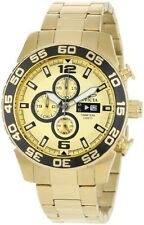 Men's Luxury Round Wristwatches with Chronograph