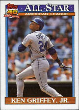 Topps Ken Griffey Jr Modern (1981-Now) Baseball Cards