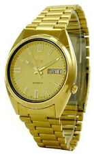 Gold Plated Band Mechanical (Automatic) Analogue Watches