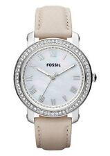 Fossil Armbanduhren mit 12-Stunden-Zifferblatt und Glanz-Finish für Damen