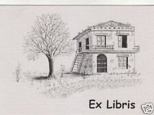 EX LIBRIS BOOKPLATE Rustico n 3