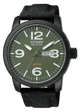 Citizen Stainless Steel Case Quartz (Solar Powered) Watches