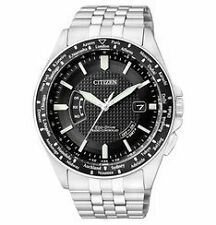 Polierte Citizen Armbanduhren mit Edelstahl-Armband