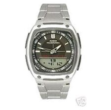 Casio Stainless Steel Band Quartz (Battery) Adult Watches
