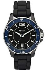 Fossil Quarz-Armbanduhren (Batterie) mit Silikon/Gummi-Armband