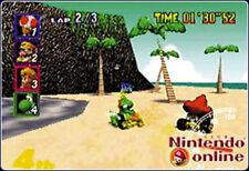 PC - & Videospiele für den Nintendo 64 mit Regionalcode PAL Mario-Kartfahren