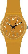 Unisex Swatch Armbanduhren aus Silikon/Gummi