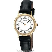 Vergoldete Seiko Armbanduhren für Damen