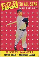 Topps Mickey Mantle Original Single Baseball Cards