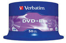 Verbatim 4.7GB Blank Computer CDs, DVDs & Blu-ray Discs