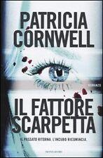 Letteratura e narrativa gialla e thriller copertina rigida in italiano Patricia Cornwell