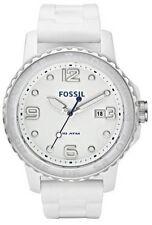 Erwachsene Fossil Armbanduhren mit Silikon -/Gummi-Armband für Herren