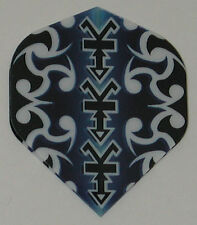 3 Sets (9 Flights) Ruthless - BLUE TRIBAL Standard - Free Shipping 1811