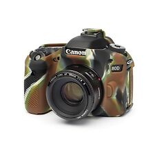 easyCover Armor Protective Skin for Canon 80D Camouflage