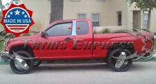 04-2012 Chevy Colorado/GMC Canyon Extended Cab Pillar Post Stainless Steel Trim