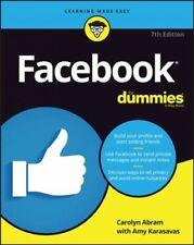 Facebook for Dummies, Paperback by Abram, Carolyn; Karasavas, Amy (CON), Like...