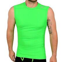 Adidas Techfit Herren Tank Top Kompression Unterzieh Shirt Funktionsshirt grün