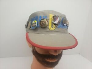 DURAN DURAN Rare Original 1984 Tritec Music Painter Hat Vintage 80s with Pins