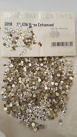 Swarovski Clear Flatback Crystals NoN Hot Fix  Nail ART and  Decoration ALL Size