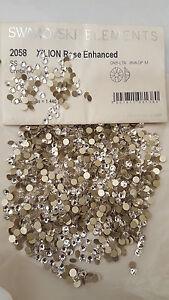 Swarovski Clear Crystals No Hot Fix Rhinestones  Nail ART Decoration ALL Size