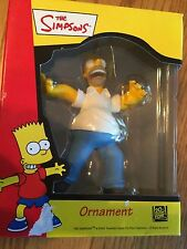 2001 The Simpsons Christmas Ornament Homer Simpson  NEW!!!