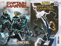 Marvel Comics Captain Marvel #20 Main + Empyre Variant NM 8/19/2020