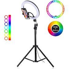 LAMPADA TIKTOK  ANELLO LUMINOSO  LED  TIK TOK  LUCE RGB  RING LIGHT X SELFIE