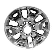 20' Bright Silver Metallic Alloy Wheel fits 2016-2018 Ram 2500 2562